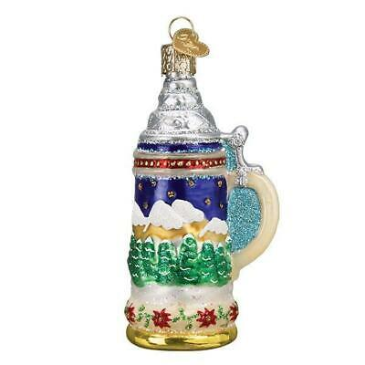 German Stein Household Collectible Old World Christmas Glass Ornament Nwt 32369