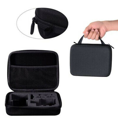 Black Case Bag for Go Pro GoPro Hero 3 3+ 4 5 Action Cam Camera Medium Carry New