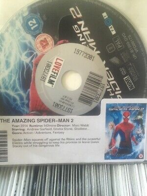 Box Of 200 The Amazing Spider-Man 2 Dvd