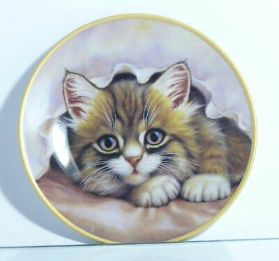 Collection Plate Schirnding Bavaria Cat Small Saucy with Certificate
