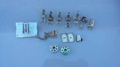 Lot Parts ELNA SUPERMATIC ?? Needle Plate Feed Dog Sewing Machine