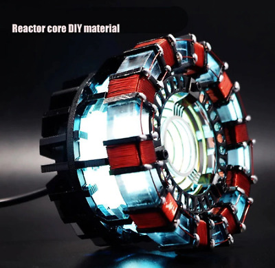 1:1 scale Iron Man Arc Reactor A generation of glowing iron man heart model Acti
