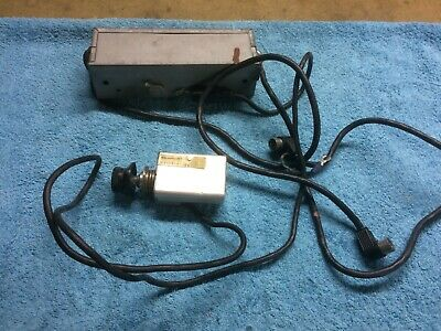 Vintage/Classic BLAUPUNKT car radio amplifier and regulator