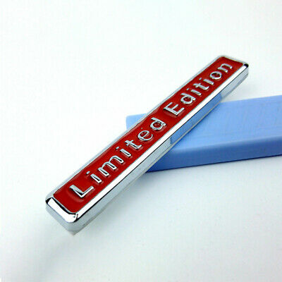 3D Limited Edition Style Emblem Car Body Trim Sticker Decal Badge Accessories