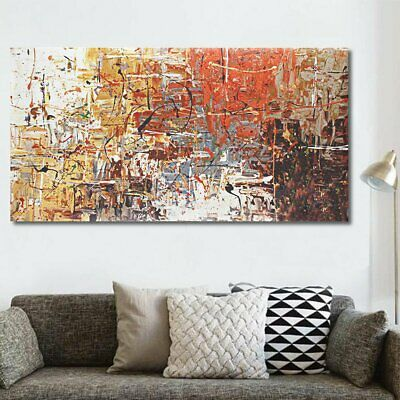 Large Modern Abstract Oil Canvas Print Painting Picture Home Wall