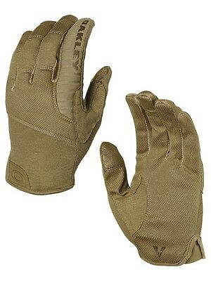 OAKLEY SI Factory Lite Tactical Gloves Handschuhe Shooting Gloves coyote Gr. XS