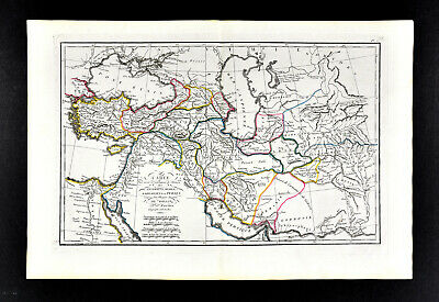 1818 D'Anville Map Ancient Middle East Assyrians Medes Babylonia Persia Asia