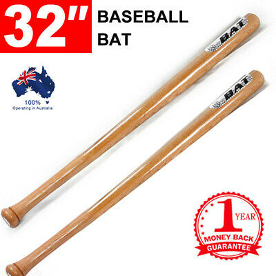 "32""/81cm Wood Baseball Bat Racket Self-Defense Safety Exercise Sports"