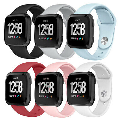 For Fitbit Versa Smartwatch Silicone Replacement Sports Classic Band Strap AU ~