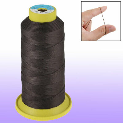 Plastic Spool Tailoring Dark Brown 9# Darning Stitching Sewing Thread Reel