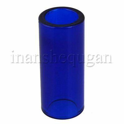 High Boron Glass Guitar Slide 28x20x67mm for Acoustic Electric Guitar Dark Blue