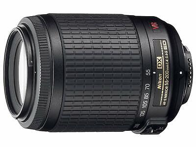Nikon Telephoto Zoom Lens for NikonDX AF-S DX VR Nikkor 55-200mm f/4-5.6G IF-ED