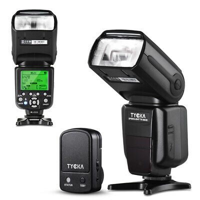 TYCKA I-TTL Flash 1/8000s Wireless Trigger Remote for Nikon DSLR Camera TK206N