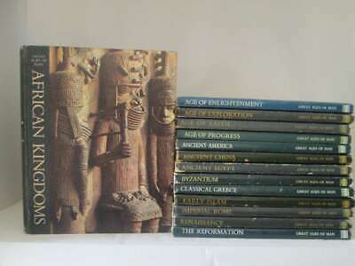 Time Life Great Ages Of Man 14 Volumes Dark Colour Covers