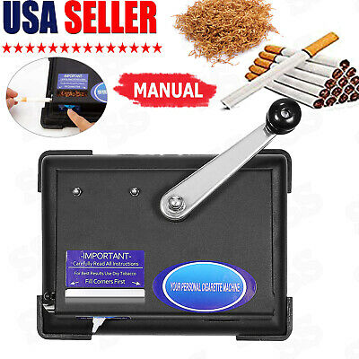 Cigarette Rolling Machine Making Box Injector Maker Tobacco Roller Metal Smoke@