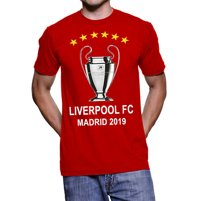 Liverpool Champions League Final 2019 - You'll never Walk Alone T shirt