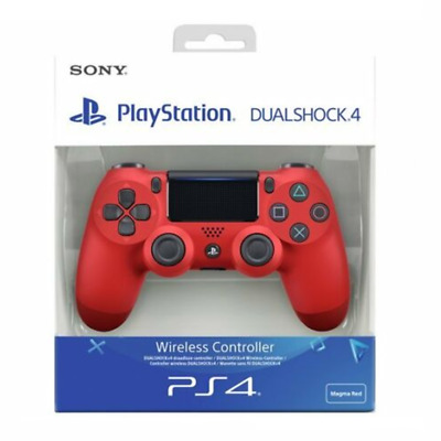 Sony Playstation 4 DualShock V2 Wireless Controller Built In Speaker Red