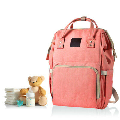 Mom Maternity Nappy Travel Backpack Waterproof Large Capacity Diaper Bag BB023