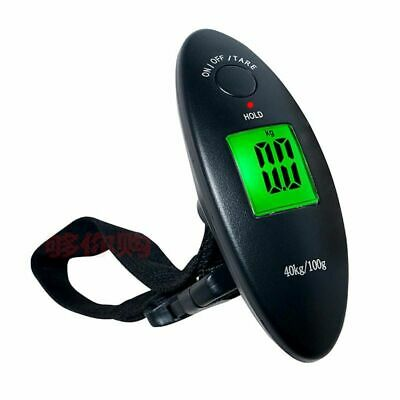 Digital Luggage Scale Portable Travel Airport Baggage Bag Carry Hanging 40KG