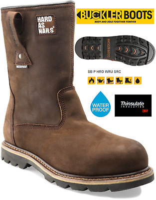 a8c55ade1ad DEWALT BREATHABLE LEATHER Safety Rigger Boots Steel Toe Waterproof ...
