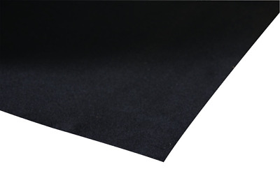 Black Felt baize flock Square with self adhesive backing 140x90mm