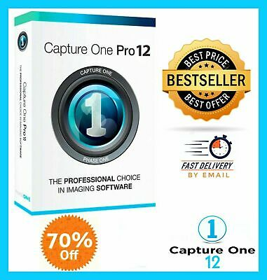 Capture One Pro 12🔥  Official Download  Key🔑Instant Delivery📥 WINDOWS & MAC ✔