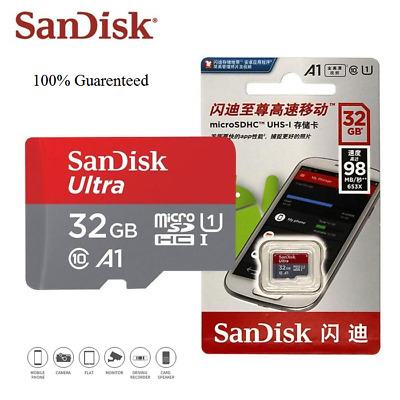 Authentic SanDisk micro SD Card 32GB 100mb/s TF usb flash memory card