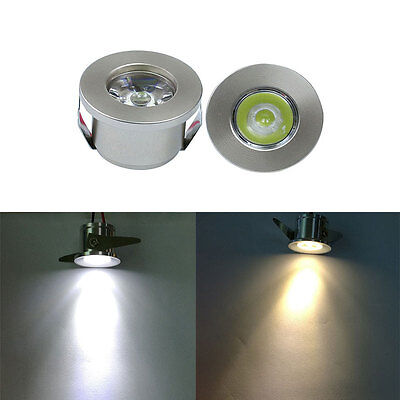 1/3W Led Cabinet Downlight Recessed Spot Light Driver Ceiling Lamp Mounted