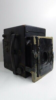Antique Large Format Box Camera Ross London Compound Homocentric 1.6.8