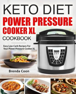 Coon Brenda-Keto Power Pressure Cooker Xl BOOK NEW