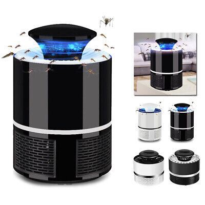 DV 5V Electric Fly Bug Mosquito Insect Killer Pest Control LED Light Trap Lamp