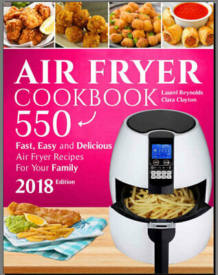 Air Fryer Cookbook – 550 Fast, Easy and Delicious PDF/E.B00k  Fast Delivery