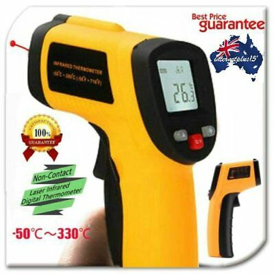 New Portable Digital Infrared Thermometer Temperature Laser Gun Meter -50 ~ 1p