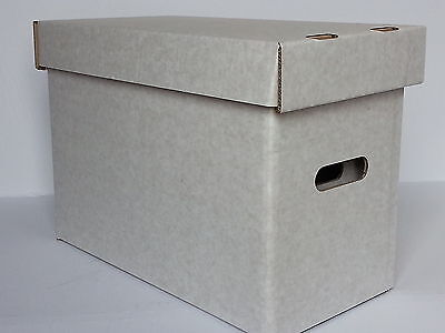 1 x CGC SIZE STORAGE BOX AND LID. OYSTER WHITE
