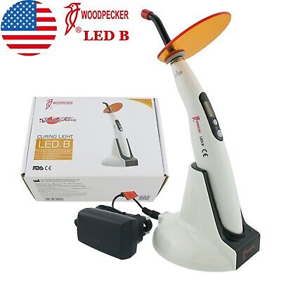 USA 100% Woodpecker Curing Light Dental Lamp Wireless 5 Second Cure 1400mw LED B