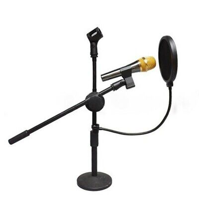 Double-Layer Microphone Studio Mic Wind Screen Mask Gooseneck Shield Pop-Filter