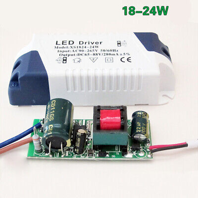 AC90~ 265V 3~ 24W LED Driver Power Supply Adapters Transformer For LED Lights T