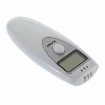 Portable Single Display Screen Pocket Digital Alcohol Breath Tester Detector CN