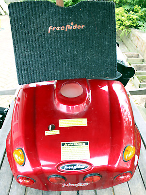 Nicely Presented Freerider Mayfair Back Panel with Lights and Wiring