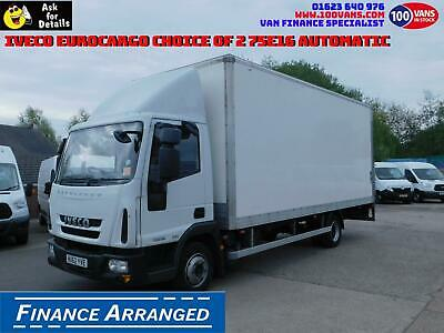 Iveco Eurocargo 75E16 DAY CAB BOX TRUCK CHOICE OF 2 CALL ANYTIME