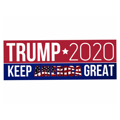 10pcs Donald Trump Bumper Sticker 2020 Keep America Great