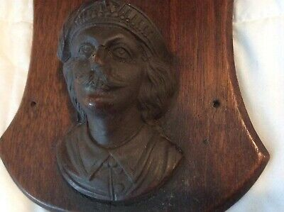 Renaissance Baroque  man figure corbel antique french wooden Shelf furniture