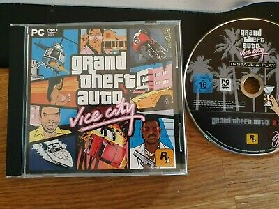 GTA Grand Theft Auto: Vice City VC (PC Spiel) [sehr gut]