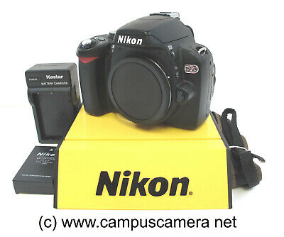 Nikon D60 D-SLR Body Only Set Excellent Condition Fully Tested & Inspected