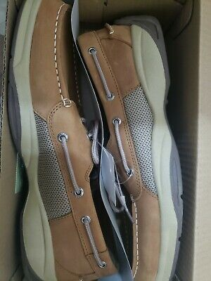 a17a8563cdcc Sperry Top-Sider Authentic Original Mens Sahara Boat Shoes Size 8 Tan Color
