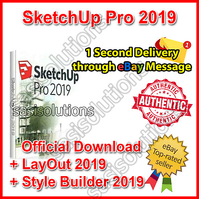 🔥 SketchUp Pro 2019 🔥 Official Download Lifetime License 1 Second Delivery 🚀