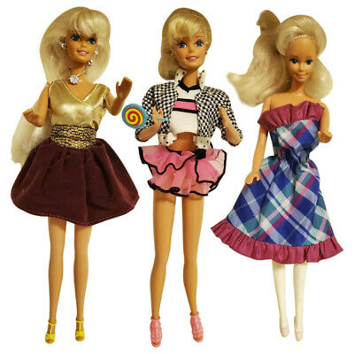 Barbie Doll Cute Vintage 1966 Retro Fashion Pink Collectible Dressed Blonde