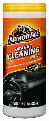 Armor All 10831 Air Freshening Cleaning Wipes, Orange Scent, 25-Count