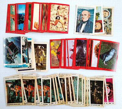 1970s Tip Top & Sunicrust ASSORTED SERIES LOT OF 93 BREAD CARDS