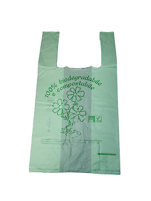 Shoppers Mini 22x40 1000 Pezzi Biocompostabili Biodegradabili